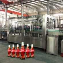 Glass Bottle Carbonated Soda Water Filling Production Line